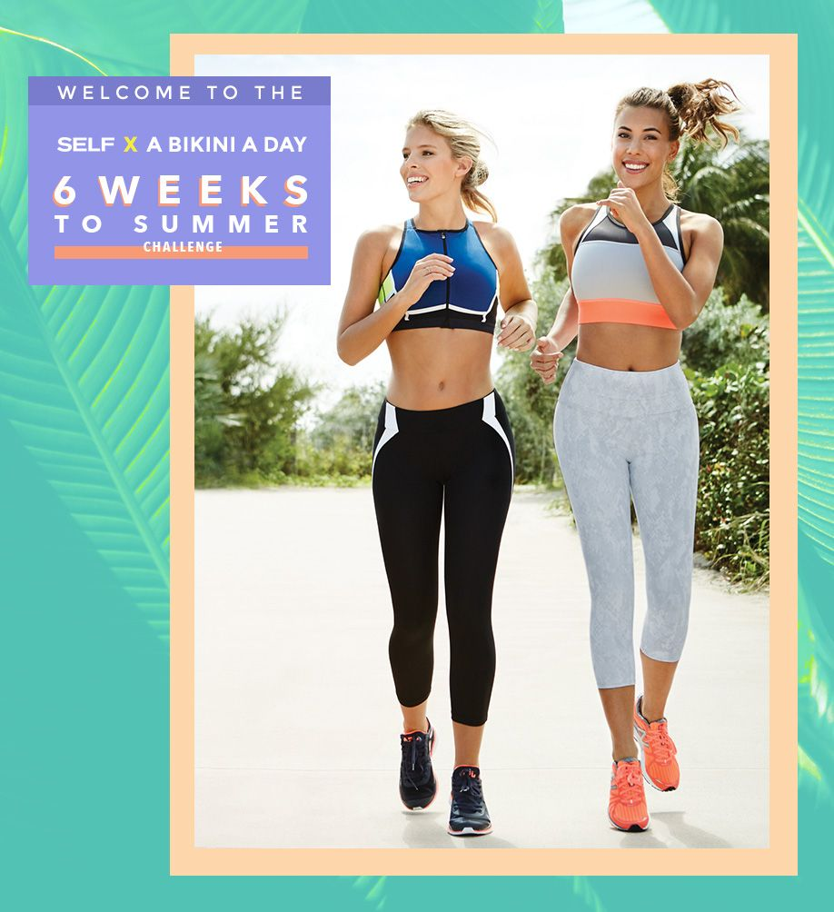 Six week bikini body