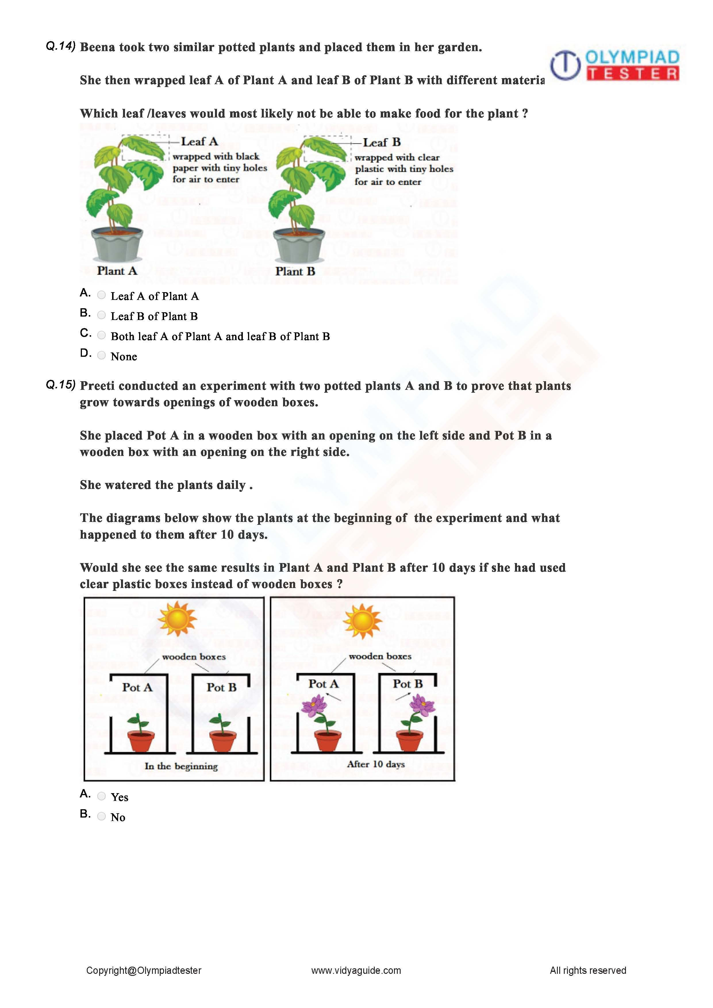 Download Class 2 Science Sample Papers As Printable Worksheets Human Body Worksheets Body Systems Exam Preparation [ 3509 x 2481 Pixel ]