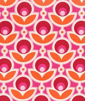 Joel Dewberry Primrose Magenta Fabric - $8.9   onlinefabricstore.net