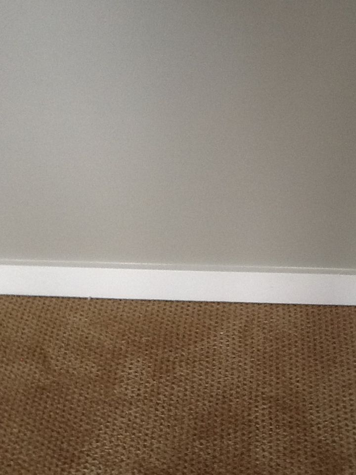 Anew Gray Walls White Trim Tan Carpet Brown Carpet Basement