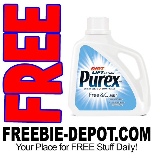 Free Purex Free Clear Liquid Laundry Detergent 150 Fl Oz