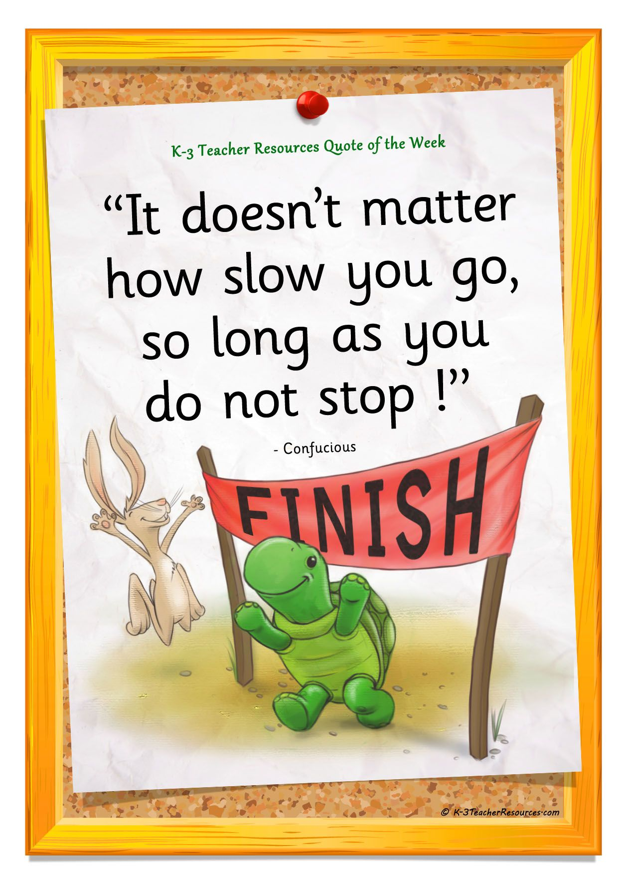 It doesnu0026#39;t matter how slow you go..   Classroom Posters   Pinterest   Running Motivation and ...