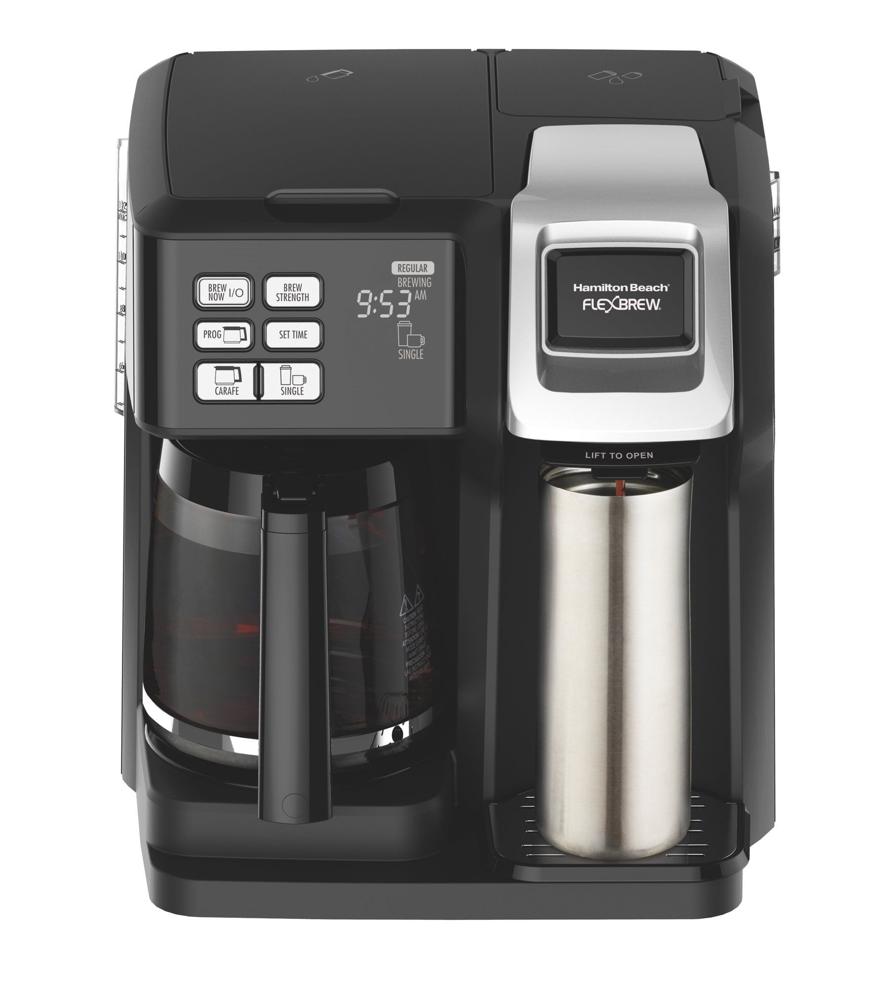 Hamilton Beach 12Cup FlexBrew® 2Way Coffee Maker