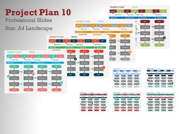 Project Plan 10 by Yes Presentations on Creative Market
