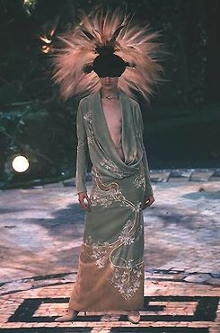 Givenchy by Alexander McQueen F/W 1998 Haute Couture