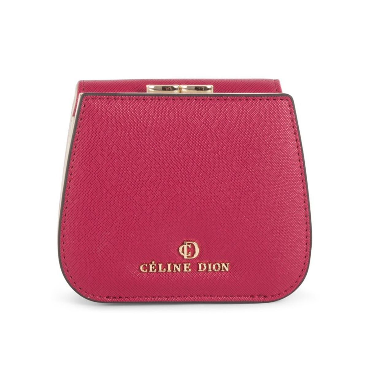 a9cf30bc8807 GRAZIOSO - WALLET l Céline Dion Collection l Small rounded wallet with  integrated coin clasp in