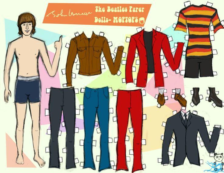 John Lennon [Paper Doll]