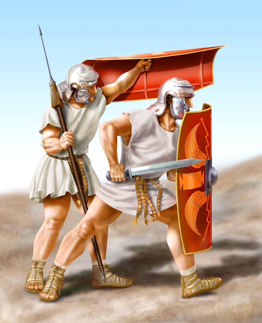 Древние римские воины в картинках