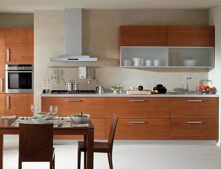 Cocina moderna de xey cocina moderna en madera en 2019 for Cocinas de madera pequenas