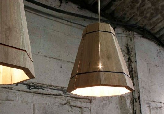 FactoryTwentyOne's Handmade Lampshades are Constructed from Discarded Shipping Pallets