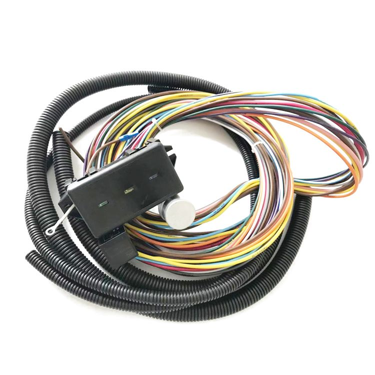 12 Circuit Wire Kit Street Rod Hot Rod Chevy Ford Universal Hotrod Wire Harness Hot Rods Street Rods Harness