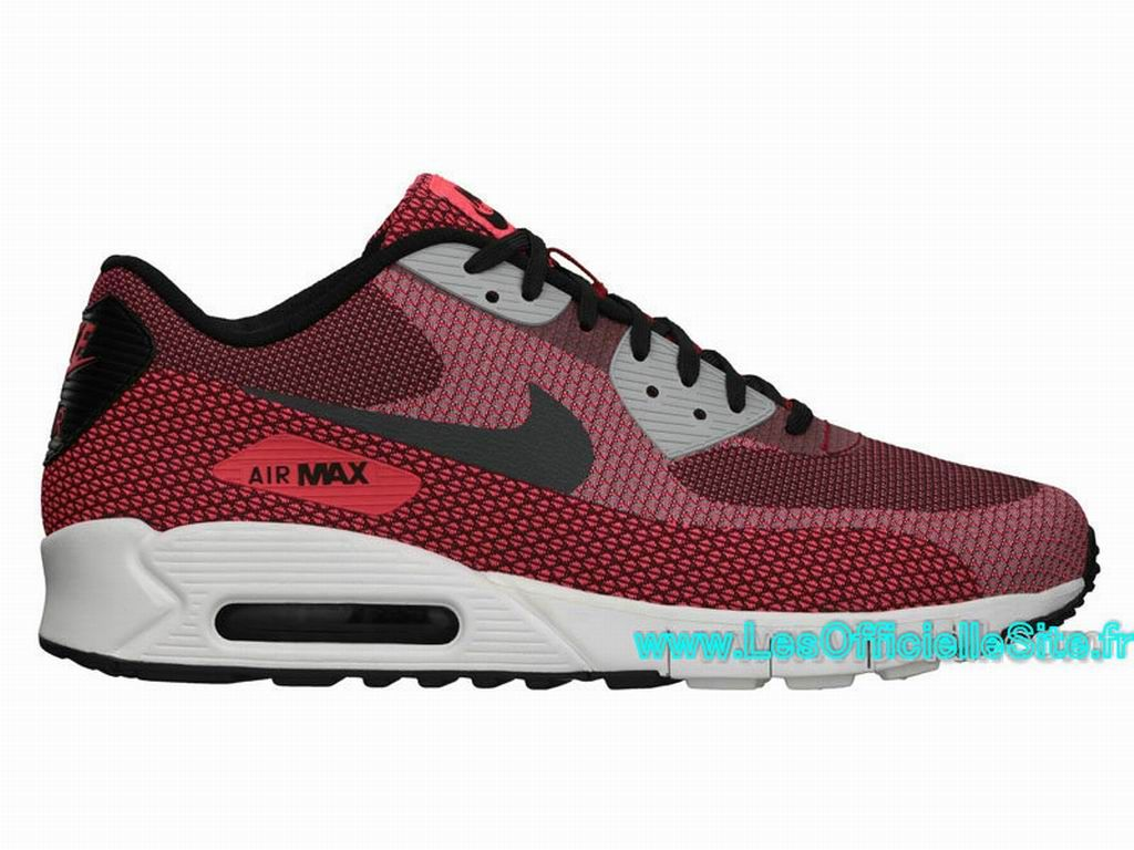 new product 98530 654e9 Boutique Nike Air Max 90 Jacquard Chaussures Pour Homme Laser cramoisi