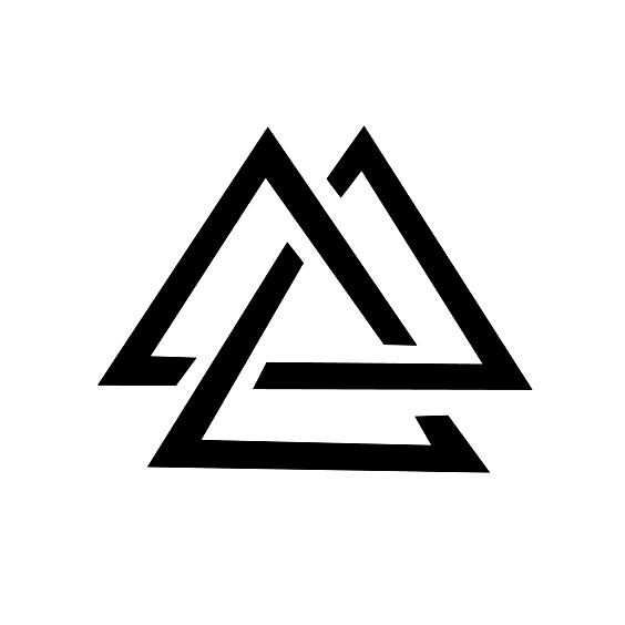 Triple Triangle Minimal Temporary Tattoo Ink Daze Small Tattoos For Guys Temporary Tattoo Ink Tattoo Designs Men