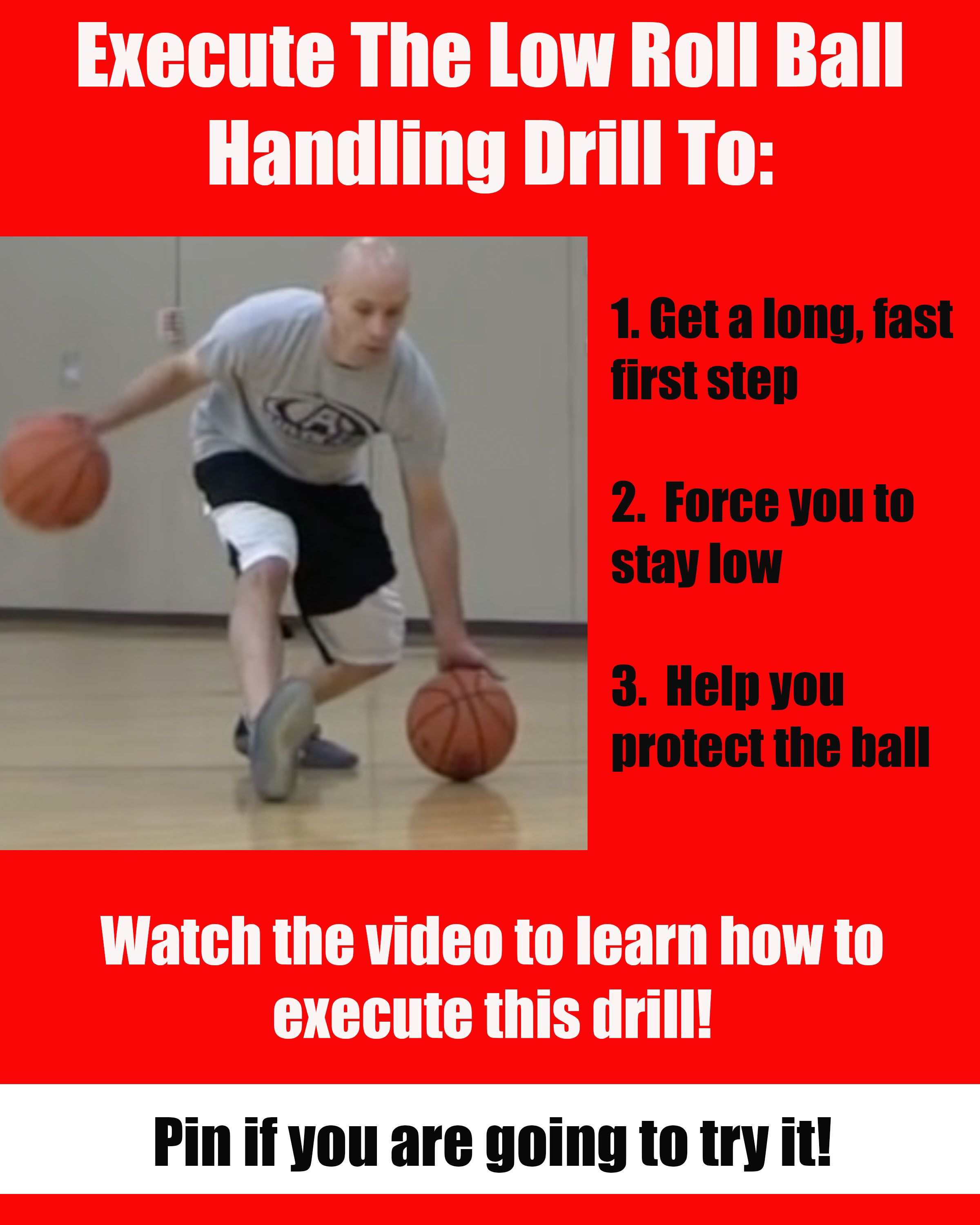 Improve Your Handles With The Low Roll Ball Handling Drill