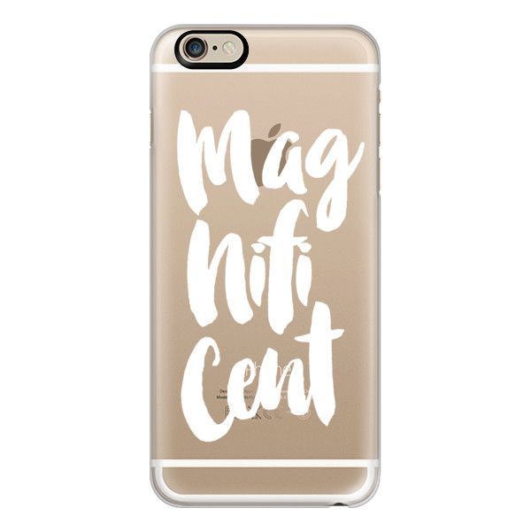 iPhone 6 Plus/6/5/5s/5c Case - Magnificent white (€35) ❤ liked on Polyvore featuring accessories, tech accessories, fillers, phone, iphone case, apple iphone cases, iphone 6 case, white iphone case, apple iphone 4 case and iphone cases