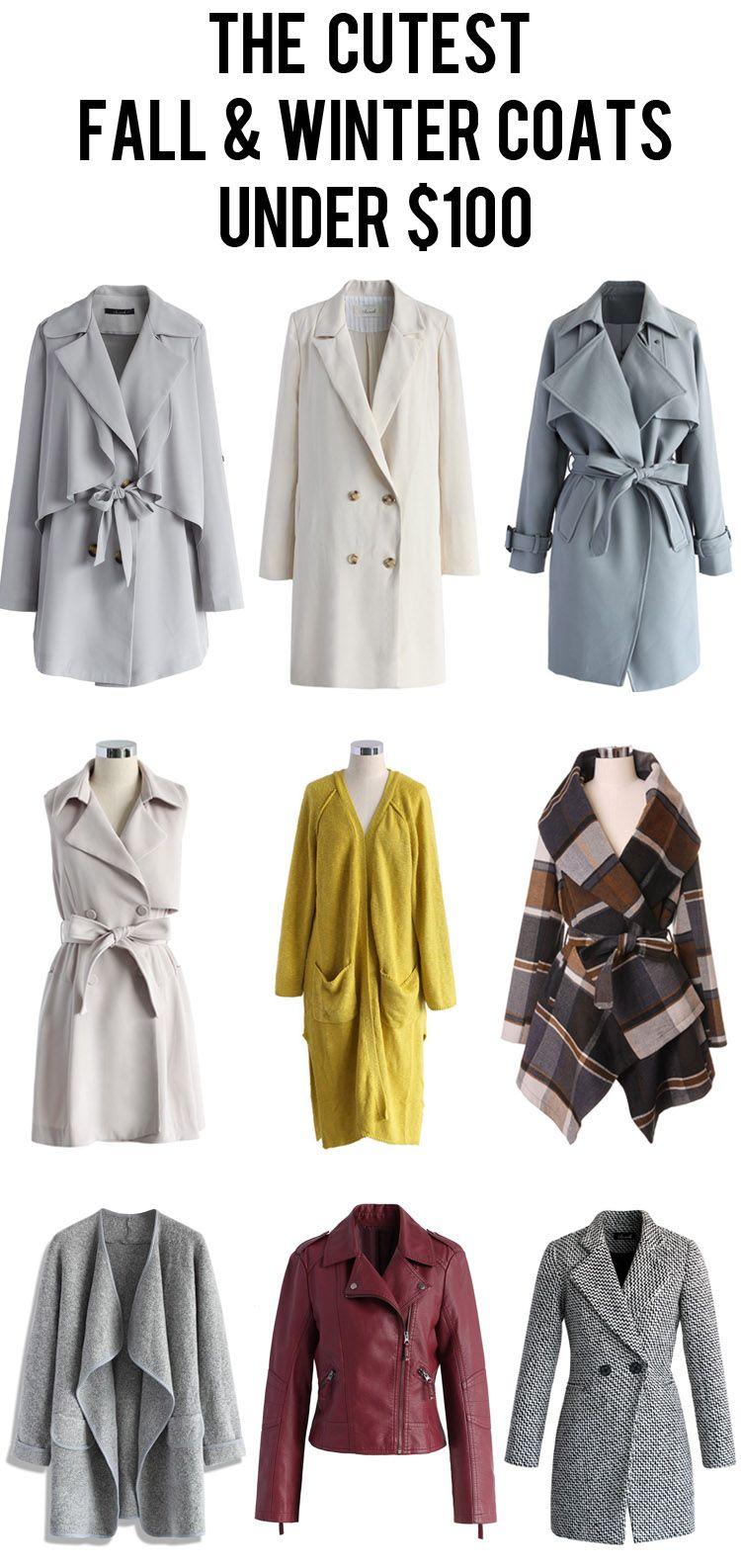 The Cutest Fall And Winter Women Coats Under 100 Fashion Winter Coats Women Clothes [ 1586 x 750 Pixel ]