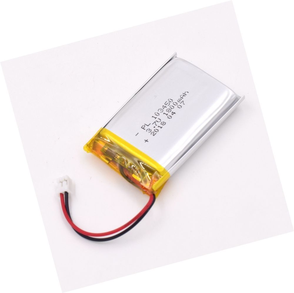 3 7v 1800mah 103450 Lipo Battery Rechargeable Lithium Polymer Ion Battery Pack 11 69end Date Mar 18 21 25buy It Now For Only Lipo Battery Lipo Battery Pack