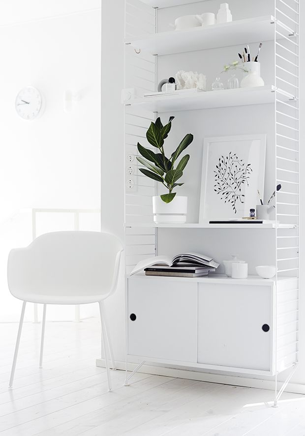 Via Weekday Carnival | String System Cabinet in White