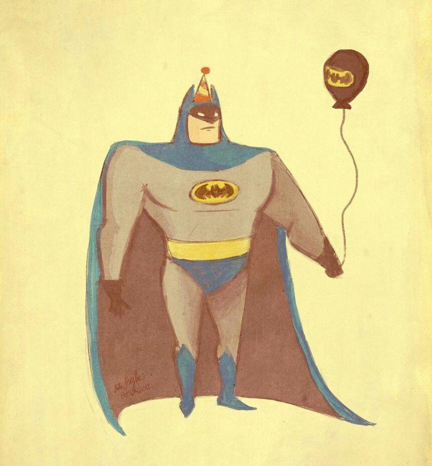 Открытка с днем рождения с бэтменом, поцелуи флеш открытка