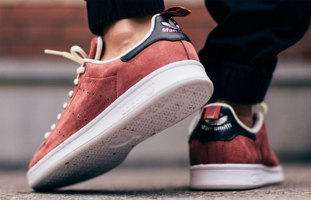 "factory price aae5d fcb2a adidas Stan Smith ""Rust Red"" Available Now"