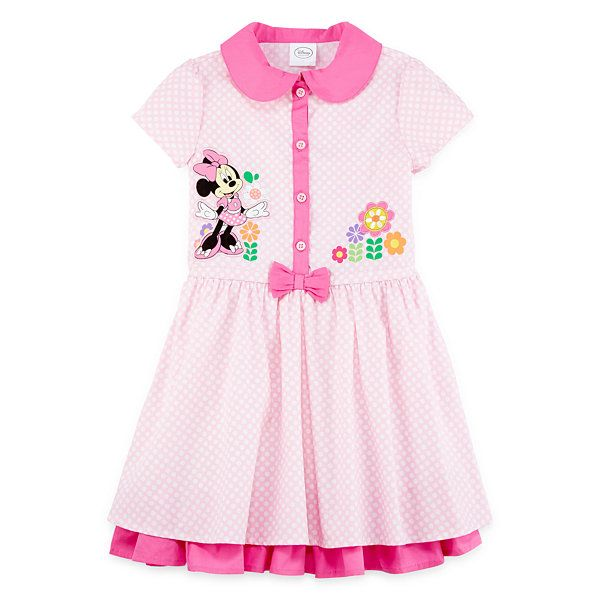 aad9c64f49d3 Disney Collection Pink Minnie Mouse Dress - Girls 2-8 - JCPenney ...