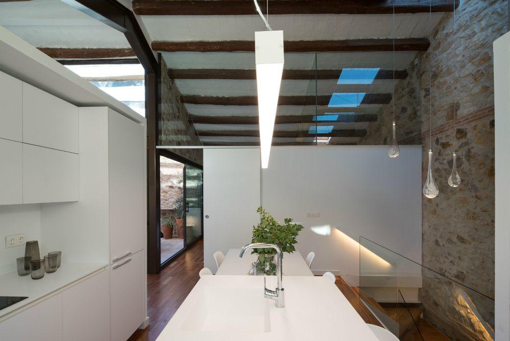 La encimera interiores de casas modernas Pinterest - interiores de casas