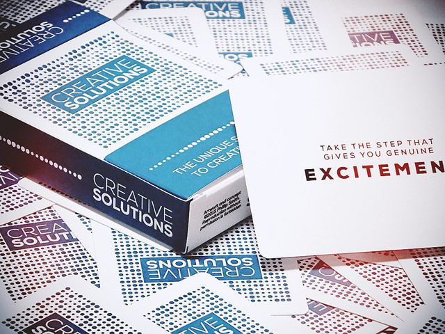 The Creative Solutions Deck by Phillip Paul Smith — Kickstarter