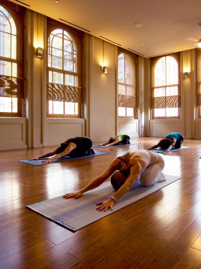 New York Citys Most Beautiful Yoga Studios