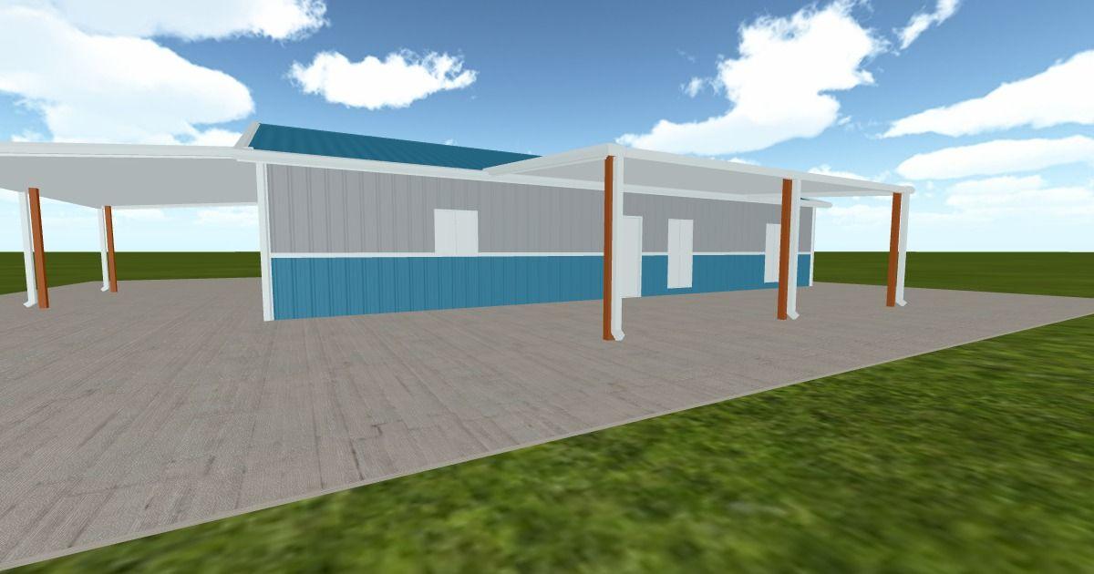 Cool 3D #marketing http://ift.tt/2gf1xQj #barn #workshop #greenhouse #garage #roofing #DIY