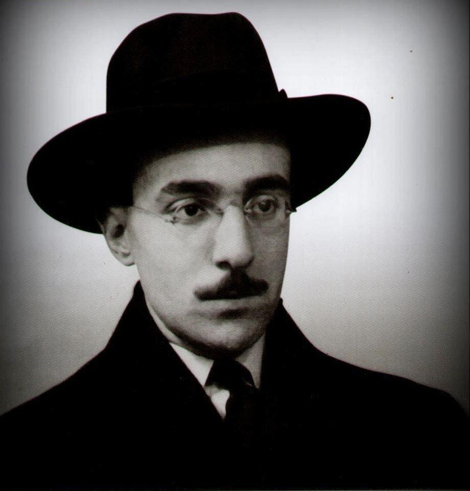 Fernando Pessoa 1888 1935 Portuguese Poet Writer Translator