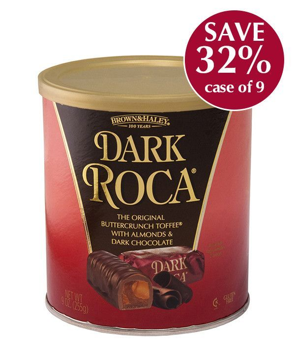 9 oz DARK ROCA Canister - Case of 9 Canisters