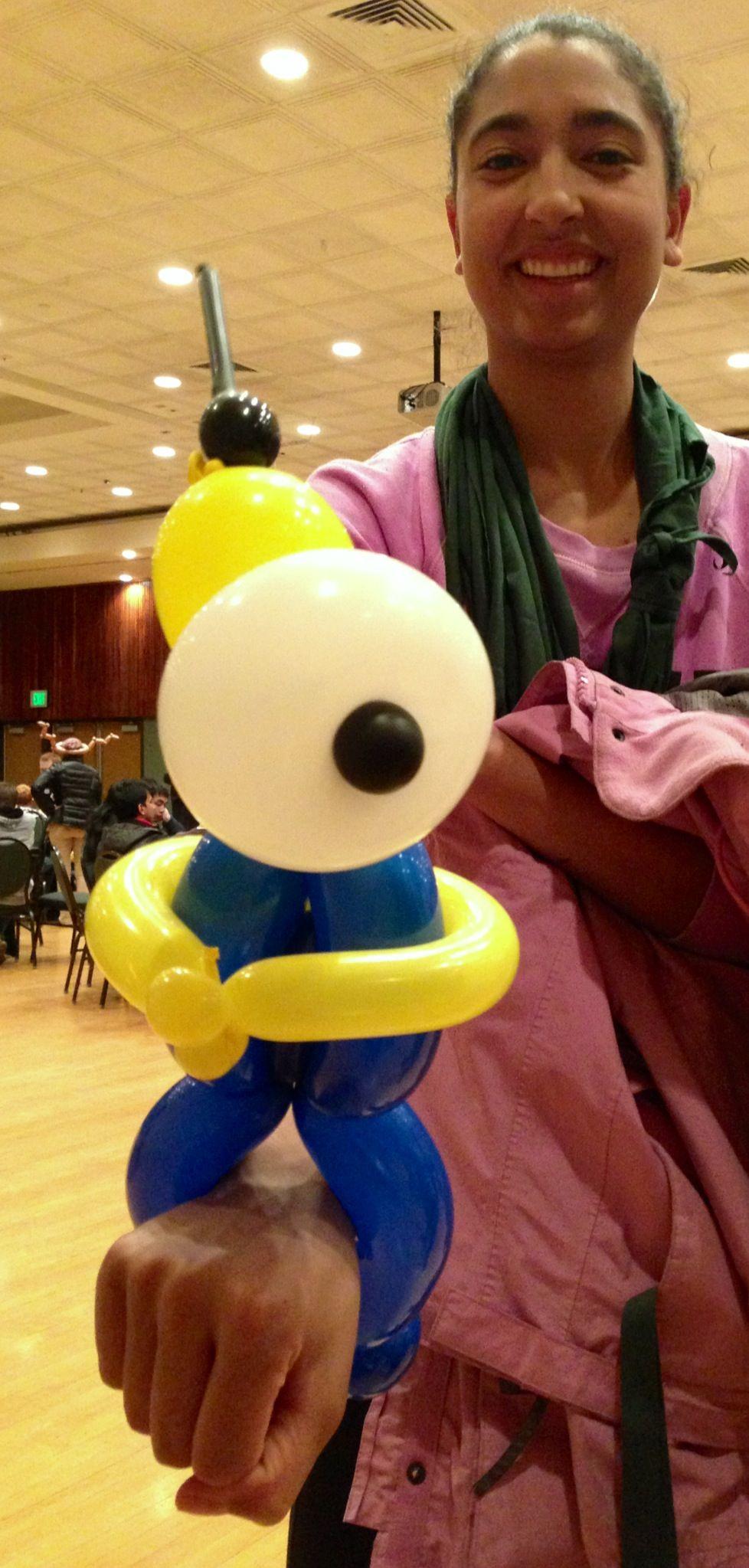 balloon animal artist denver