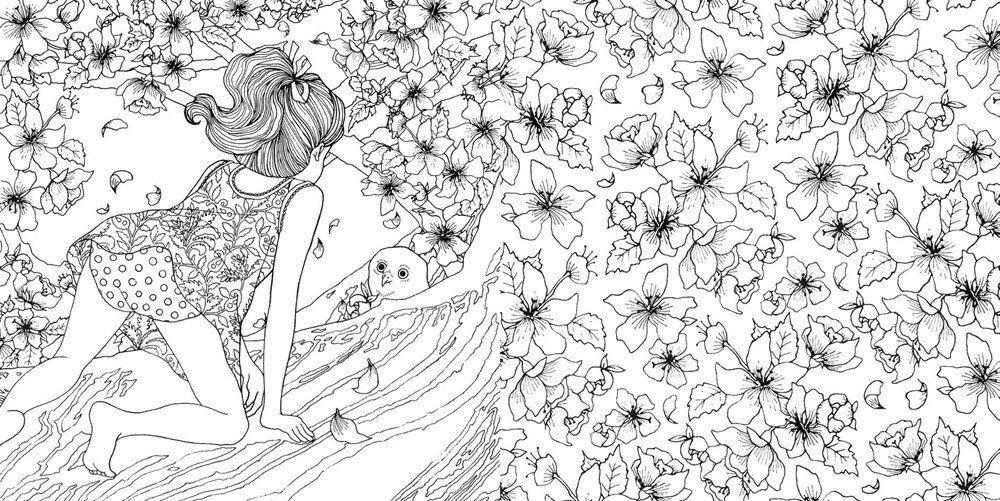 Amazon Prime Now The Time Garden A Magical Journey And Coloring Book
