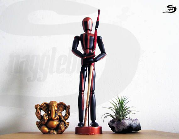 Mannequin figure human statue - Drawing model wood doll