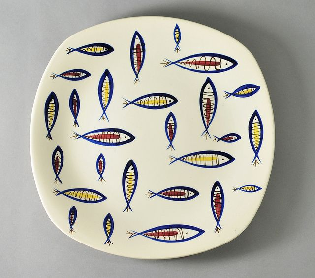\u0027Fish\u0027 by Jessie Tait for Midwinter Pottery by robmcrorie via Flickr  sc 1 st  Pinterest & Fish\u0027 by Jessie Tait for Midwinter Pottery | Jessie Pottery and Fish