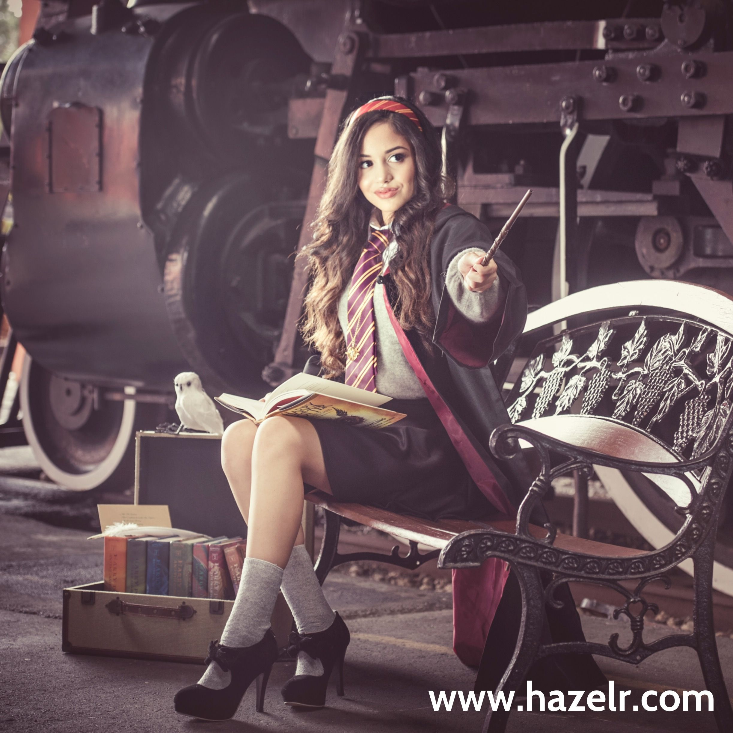Harry Potter Inspired Photos Quinceanera Inspiration Miami Gold Coast Train