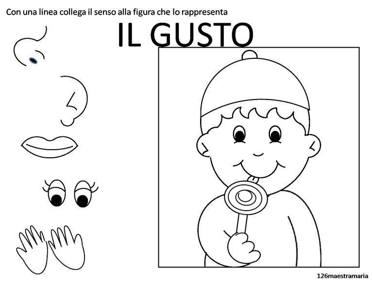 Schede Didattiche Per Bambini Autistici Scuola Dell Infanzia Con Schede Sui Cinque Sensi Da Colorare Maestramaria E Gusto1 1510x1142px Sc Senso Scuola Infanzia