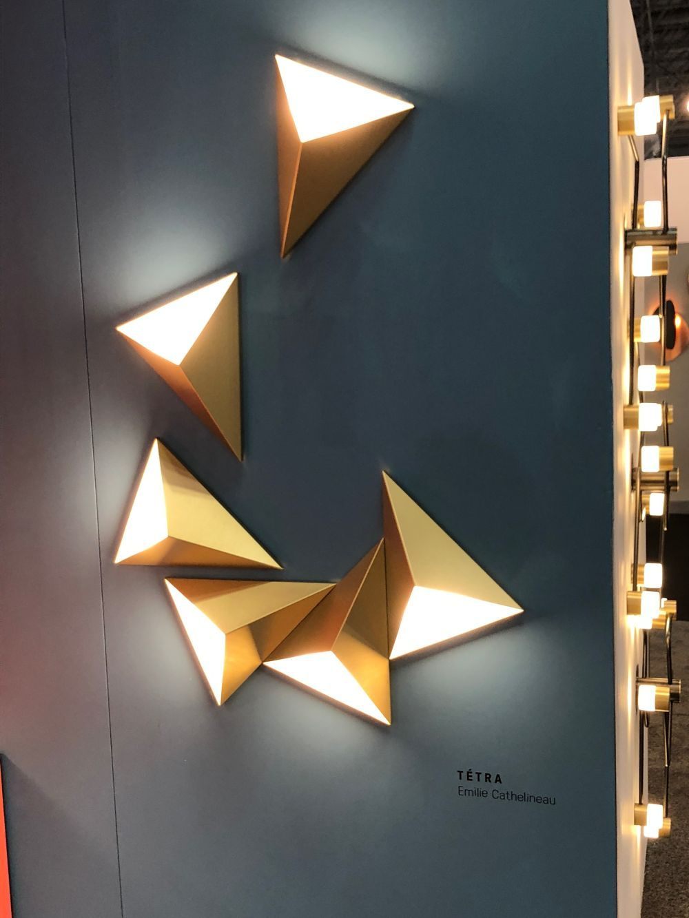 TÉTRA triangle wall lights (With images) | Wall lighting