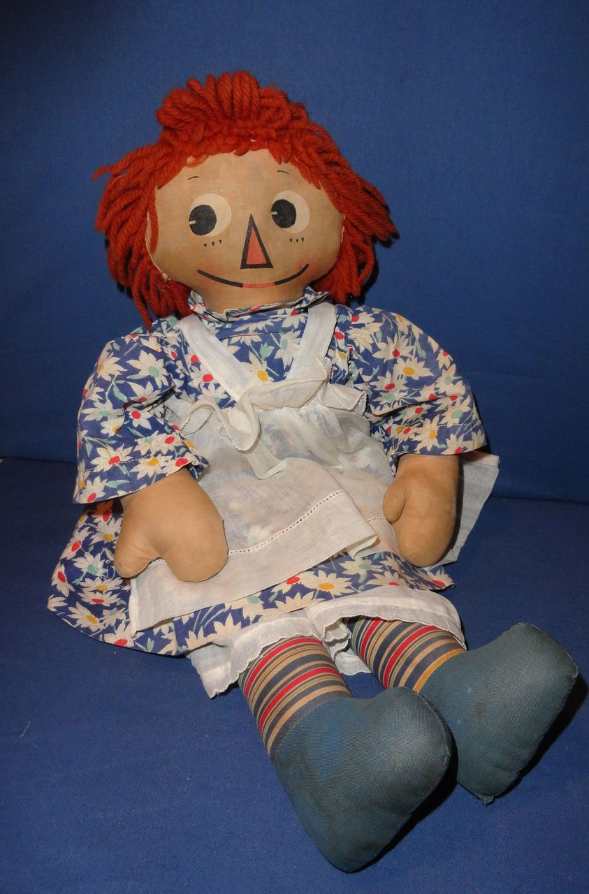 Molly-es Raggedy Ann Doll from sarabernsteindolls on Ruby Lane