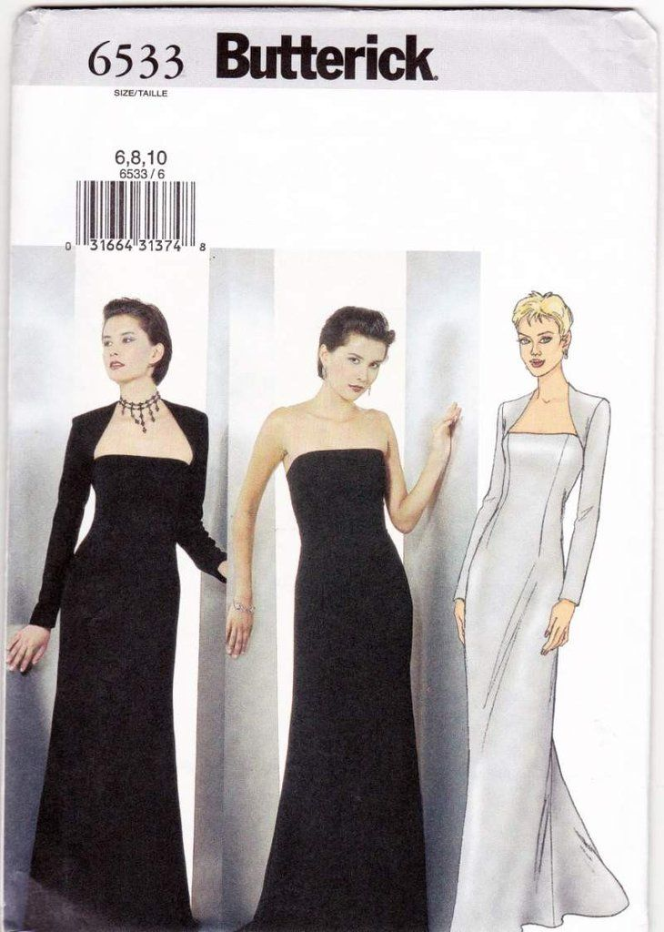 Evening wear pattern, save this pin for later -- Evening Dress and ...