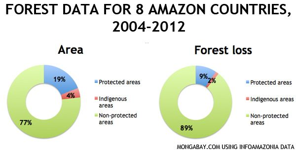 Researchers from Terra-i and O-Eco's InfoAmazonia team have developed updated forest cover maps for Bolivia, Colombia, Ecuador, Guyana, French Guyana, Peru, Suriname and Venezuela. The results reveal a 24 percent increase in forest loss between 2011 and 2012 and an increasing trend since 2004.