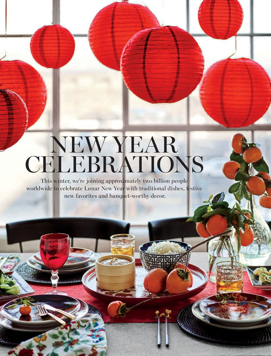 WilliamsSonoma Winter Lunar New Year 2019 Page 1 in