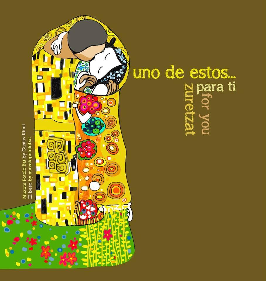 El Beso By Mpb Euskara Ilustraciones Frases De