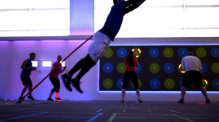 Who needs a nightclub? Lose weight AND have fun with this super cool gym.