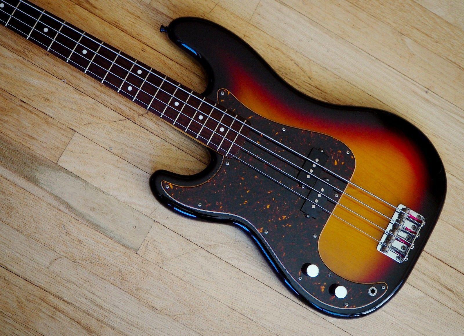 2004 Fender Precision Bass 62 Vintage Reissue Pb62 Left Handed Cij Japan Fender Precision Bass Bass Left Handed