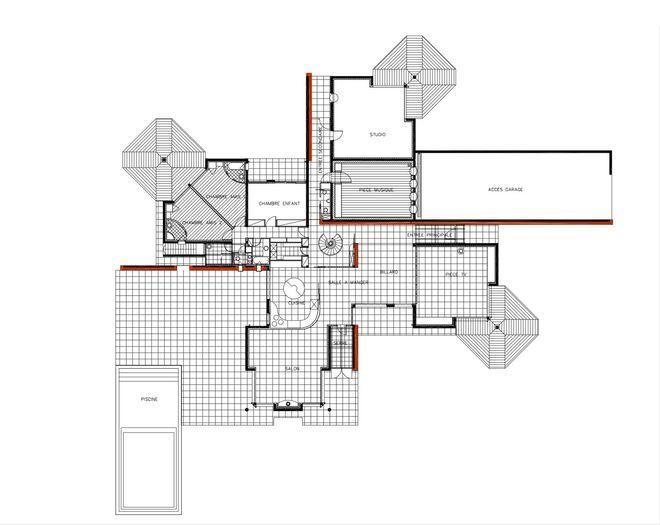 Plan de maison  projets d\u0027architecte pour trouver l\u0027inspiration