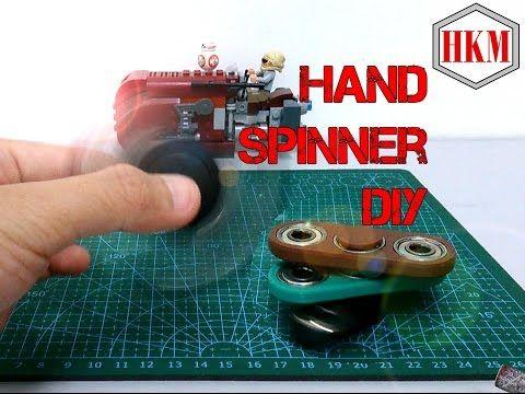 Hand Spinner/Fidget Spinner DIY Tutorial (EASY!!!) - YouTube