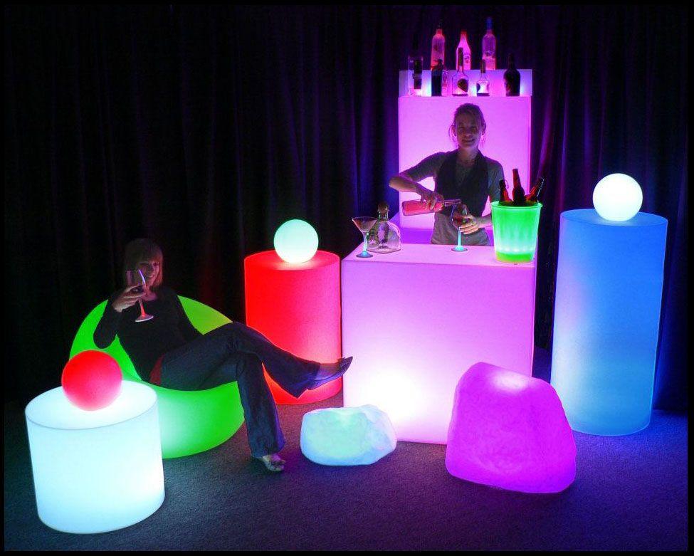 The Glow In The Dark Party Ideas Xv Decoracion Fiesta