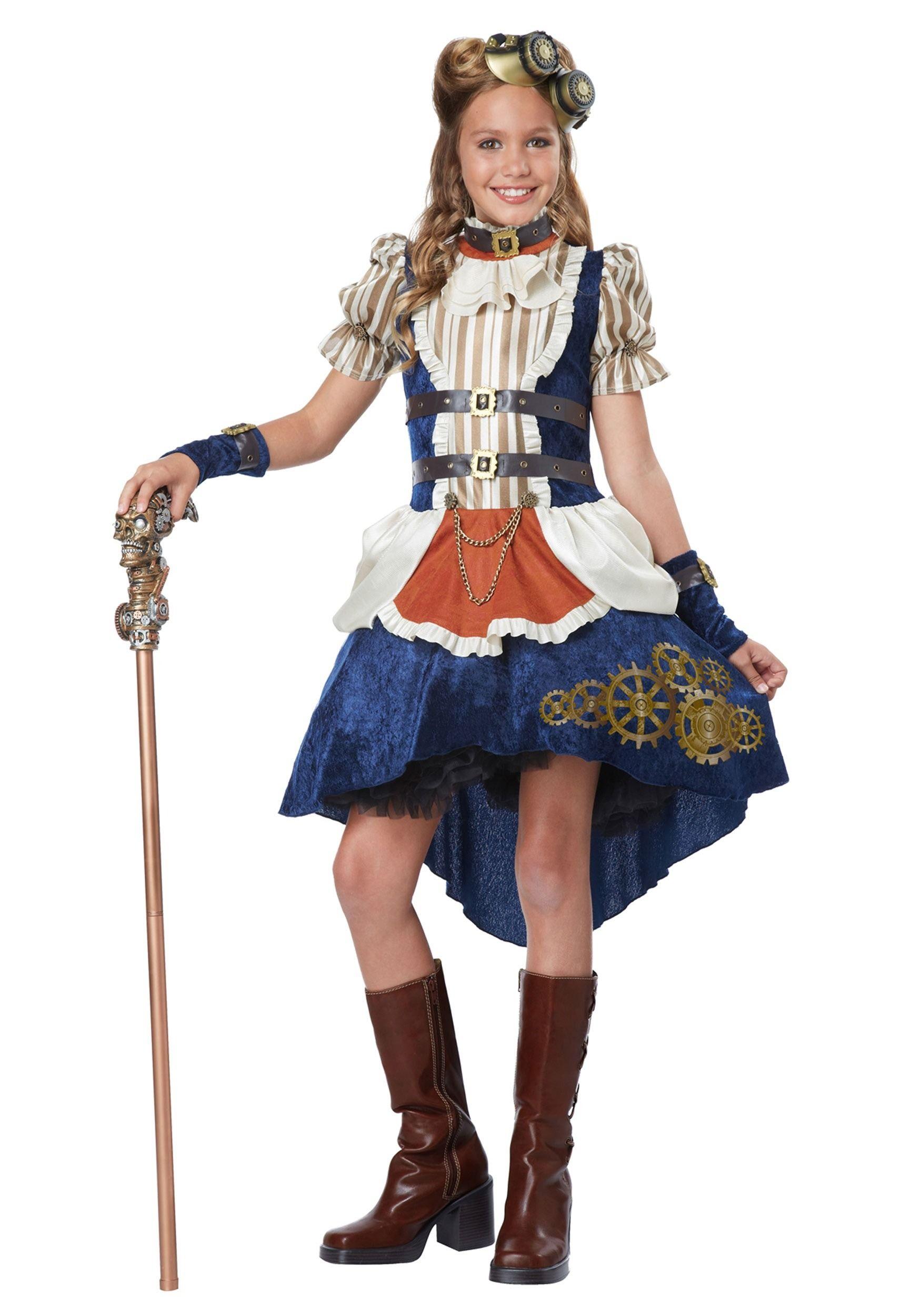 Steampunk Costumes - Victorian Steampunk Fashion Costumes ...