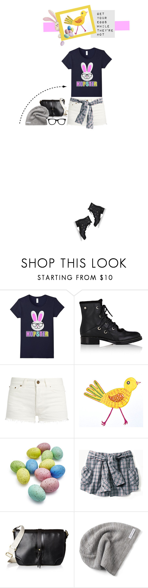 """""""Hopster-ism"""" by idocoffee ❤ liked on Polyvore featuring Proenza Schouler, Yves Saint Laurent, Sur La Table, Kelsi Dagger Brooklyn and Converse"""